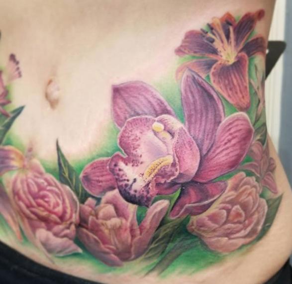 Realism floral