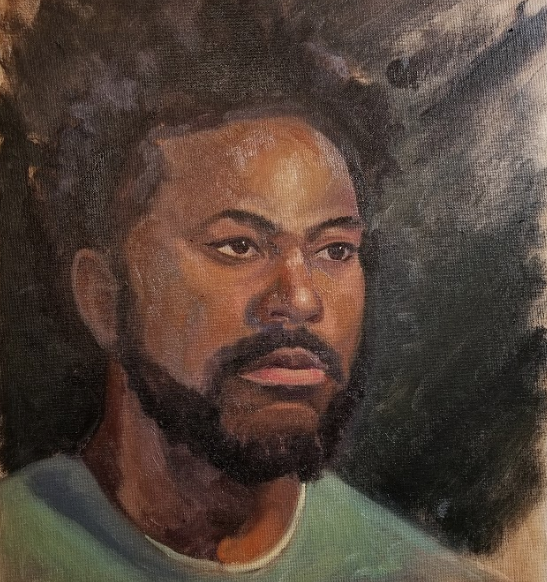 Live Painting Portrait done by Jason Angst
